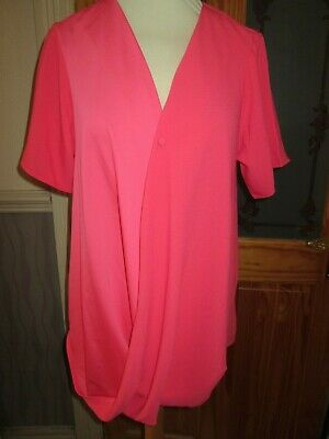 next maternity coral pink summer breastfeeding top size 12 eur 40 brand new tags