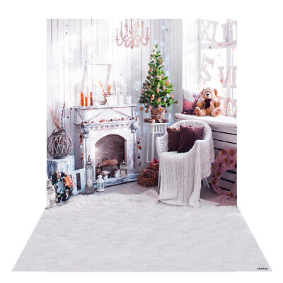 Andoer 1.5 * 2m Photography Background Backdrop Digital Printing Christmas A9B6