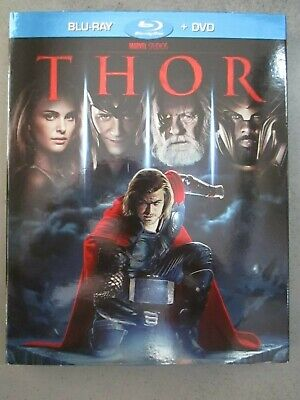 Thor - Bluray Disc + Dvd - Marvel Studios