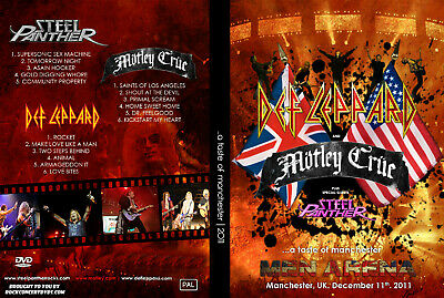 Motley Crue 2011 M.E.N. Arena, Manchester, UK with Def Leppard DVD