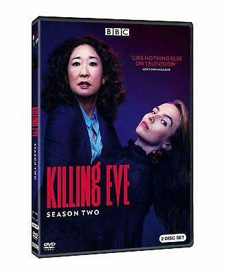KILLING EVE SEASON 2 DVD Brand New and Sealed UK COMPATIBLE Free Fast Postage