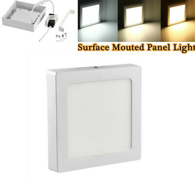 12W LED Panel Light Ultra Slim Recessed Ceiling Down light Wall Neutral White