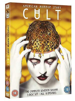 AMERICAN HORROR STORY CULT SEASON 7 DVD Brand New and Sealed Free Fast Postage