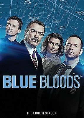 BLUE BLOODS SEASON 8 DVD Brand New and Sealed Free Fast Postage