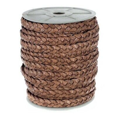 """Pack of 6 Lace Leather Strings Top Grain Leather 1//2/"""" x 24/"""" E116"""
