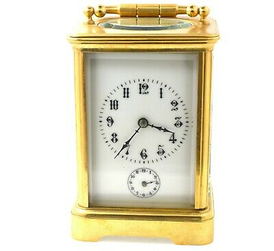 Antique Vacheron Constantin Carriage Clock W/ Alarm Circa 1880