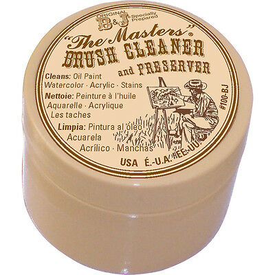 General Pencil Company Inc The Masters Brush Cleaner & Preserver 1 Oz