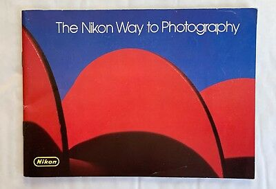 Nikon Way of Photography,  7 x 5 in  Product Brochure