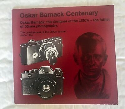 Development of The Leica System since-1914,  8 x 8 In  60 Page Brochure