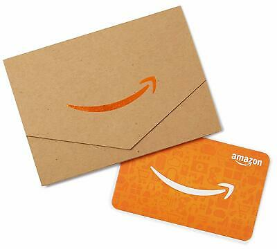 Amazon Gift Card, FAST FREE SHIPPING Redeem at Amazon.com ONLY, Best Price NEW