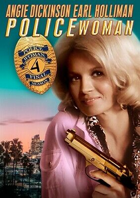 POLICE WOMAN TV SERIES THE COMPLETE FINAL FOURTH SEASON 4 New Sealed DVD