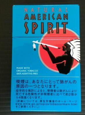 Natural American Spirit Cigarette Case Steel / FREE Shipping / FROM JAPAN 01