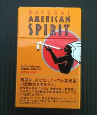 Natural American Spirit Cigarette Case Steel / FREE Shipping / FROM JAPAN 02