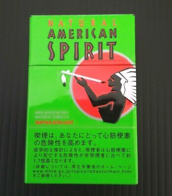 Natural American Spirit Cigarette Case Steel / FREE Shipping / FROM JAPAN 03