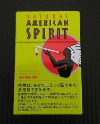 Natural American Spirit Cigarette Case Steel / FREE Shipping / FROM JAPAN 04