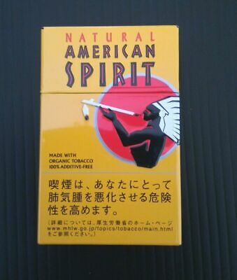 Natural American Spirit Cigarette Case Steel / FREE Shipping / FROM JAPAN 05