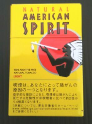 Natural American Spirit Cigarette Case Steel / FREE Shipping / FROM JAPAN 06