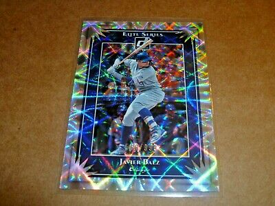 2019 Donruss Elite Series Javier Baex #568/999 Chicago Cubs