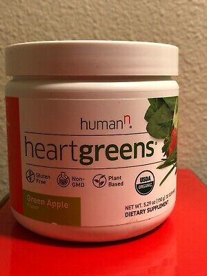 HumanN Heart Greens -  Circulation Superfood - 30 Servings Exp 1/2020