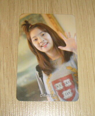 Twice 1st Mini Album The Story Begins Dahyun B Photo Card Official K POP