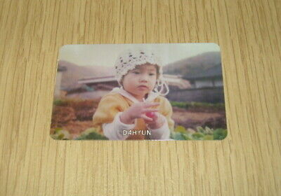 Twice 1st Mini Album The Story Begins Dahyun C Photo Card Official K POP