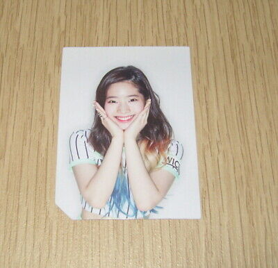 Twice 2nd Mini Album Page Two White ver. Dahyun Photo Card Official K POP