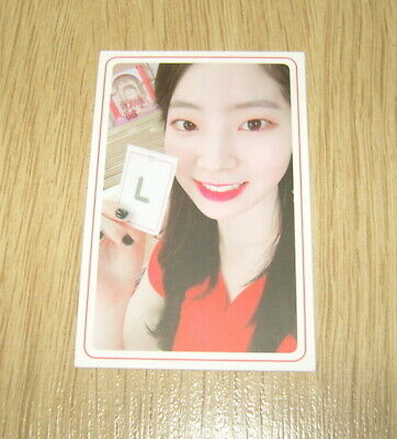 Twice 5th mini Album What is Love Dahyun I Photo Card official