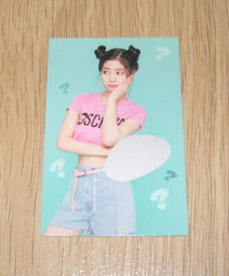 Twice 5th mini Album What is Love Dahyun Scratch Photo Card official