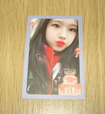 Twice 5th mini Album What is Love SaNa G Photo Card official