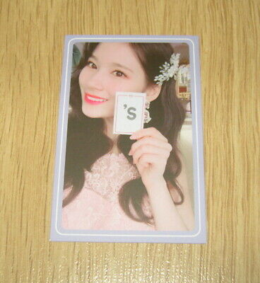 Twice 5th mini Album What is Love SaNa I Photo Card official