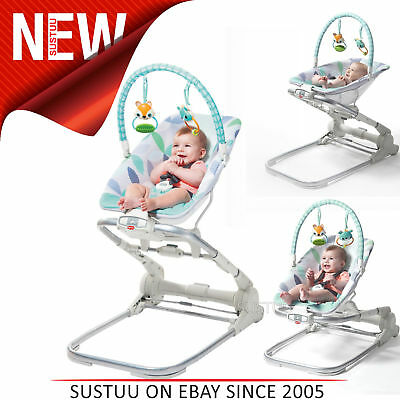 Tiny Love 3 in 1 Close to Me Baby Bouncer│Adjustable Height│With Music│Portable