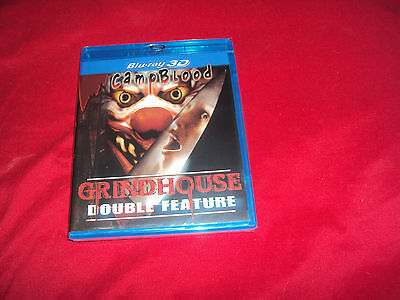CAMP BLOOD AND CAMP BLOOD 2 3D Blu-Ray Dvd Grindhouse Double Feature Sealed