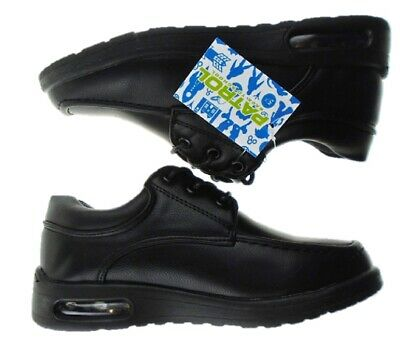 Boys PATROL Back 2 School Shoes AIR Trainer Formal Casual Lace Up Size UK 10 - 7