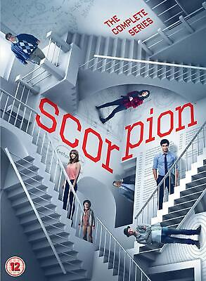 Scorpion – The Complete Series (Seasons 1-4) Action Drama NEW