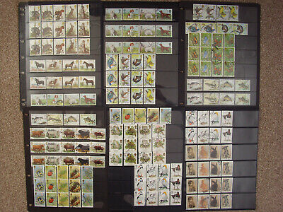 LOT#359h - GB 1977-1992 ANIMALS BUTTERFLIES BIRDS; FLORA (Multiple Listing) USED