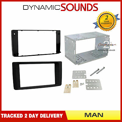 HYUNDAI I800 DOUBLE DIN FASCIA 2007 ONWARDS ADAPTER PANEL TQ BUS CT23HY16 FITS