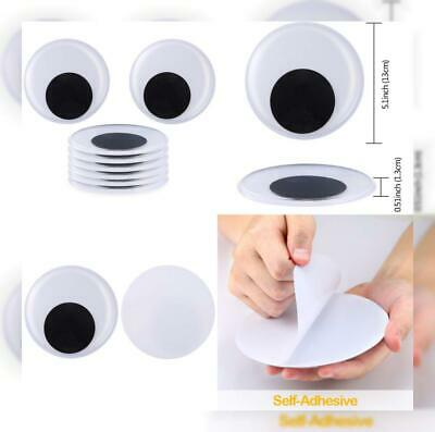 Sntieecr 8 Pack 5.1 Inch Large Wiggle Googly Eyes with Self Adhesive... 13 cm