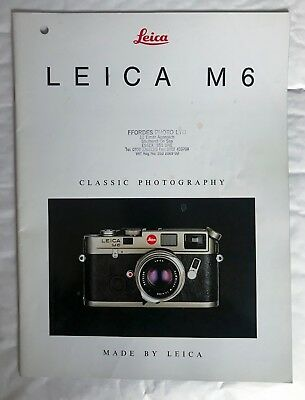Leica M6, Product Brochure