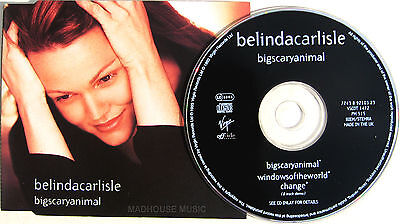 BELINDA CARLISLE CD Big Scary Animal / Windows Of The World / Change UNPLAYED