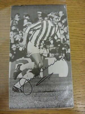 "1950's-00's Autograph: Stoke City - Jimmy Greenhoff [Approx 5""x 8""] Hand Signed"