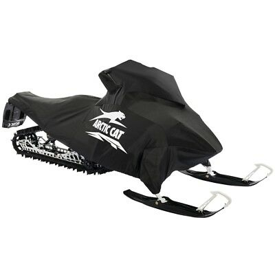 Arctic Cat Polyester Snowmobile Cover Black & White 2012-2019 M XF-HC - 8639-014