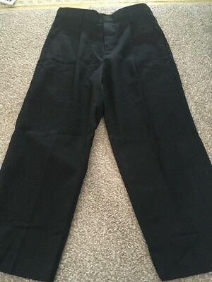 BNWOT Boys Black School Trousers Aged 6