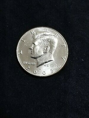 2005 D President Kennedy Half Dollar Fifty Cent Coin Money U.S. Mint Roll Coins