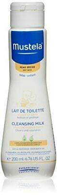 Mustela Face and Diaper Area Cleansing Milk, 200 ml