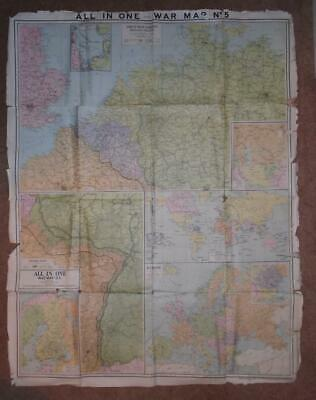 all in one war map no 5 north western germany holland belgium