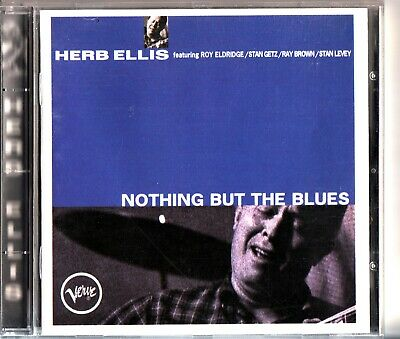 HERB ELLIS - Nothing But The Blues Expanded CD 1994 Verve AS NEW