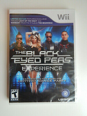 The Black Eyed Peas Experience Game New & Sealed! Nintendo Wii
