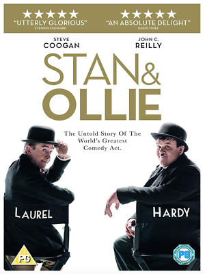 PRE ORDER Stan and Ollie - UK DVD Region 2 Stock - 03/06/2019 - Brand New