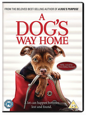 PRE ORDER A Dog's Way Home - UK DVD Region 2 - 03/06/2019 - Brand New