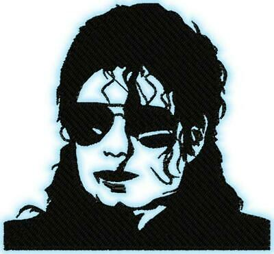 MICHAEL JACKSON 15 MACHINE EMBROIDERY DESIGNS CD or USB